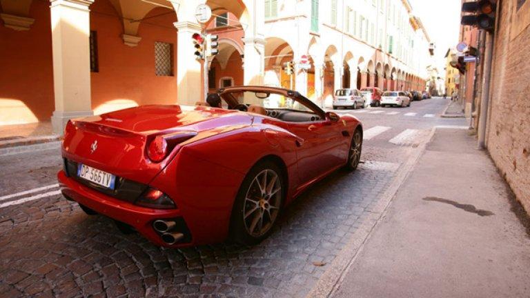 80% от купувачите на California досега не са карали автомобил на Ferrari