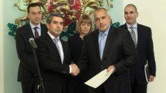 ГЕРБ днес получиха мандат за съставяне на правителство от Росен Плевнелиев