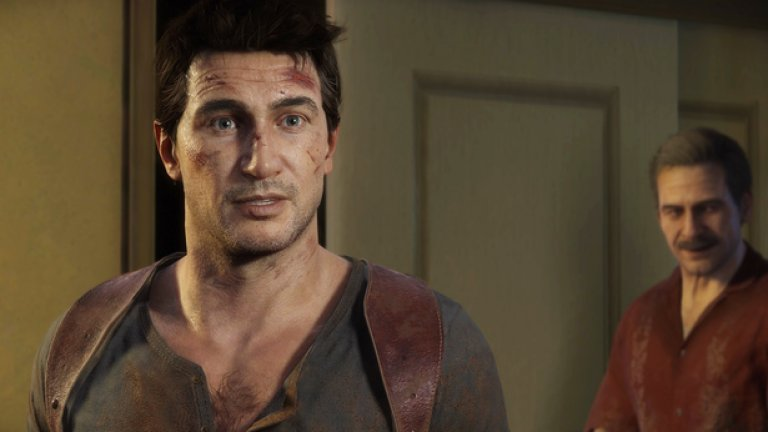 2.Нейтън Дрейк  Първа поява: Uncharted (2007)  Индиана Джоунс на модерната епоха, остроумен приключенец и лице на игрите Uncharted, още една изключителна поредица от последните години. Това, което отличава Дрейк и го издига до много повече от поредния бъбрив екшън герой, е взаимоотношенията му с останалите персонажи като Елена, Съли, Клои и неговия брат Сам. Заключителната част от поредицата Uncharted 4 е една от най-добрите игри на 2016 г. и е най-продаваното заглавие за PlayStation 4 до момента.