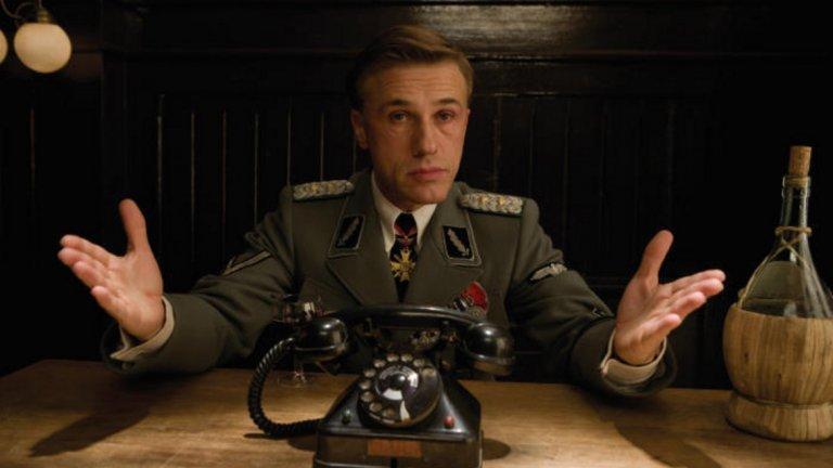 """Тарантино и широко отворените врати на Холивуд  Всичко се преобръща с ролята в """"Гадни копилета"""" (2009 г.) на Куентин Тарантино. Там Валц играе щандартенфюрер Ханс Ланда - есесовец, известен и като """"Ловецът на евреи"""". Неговият персонаж е много интелигентен, прецизен, манипулативен, дружелюбен, когато се налага, но винаги някак заплашителен. Самият Тарантино казва, че Ланда е един от най-добрите, но и трудни за изиграване персонажи, които някога е писал. """"Вярно е, че ако не бях намерил някой толкова добър, колкото Кристоф, може би нямаше да направя """"Гадни копилета"""", посочва режисьорът."""