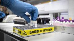 Процентът заразени на фона броя направени тестове остава сравнително висок - 38,8 на сто