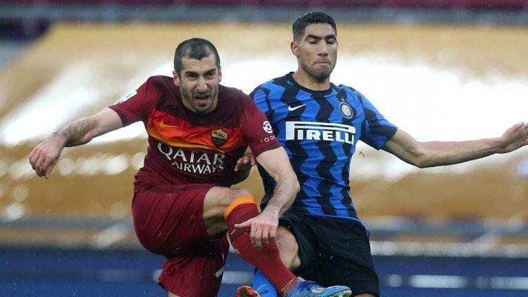 Рома и Интер направиха шоу, но не се победиха