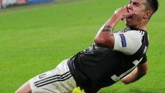 Дибала открадна шоуто само за две минути, а преди неговите голове Ювентус вървеше към шокова загуба от руснаците