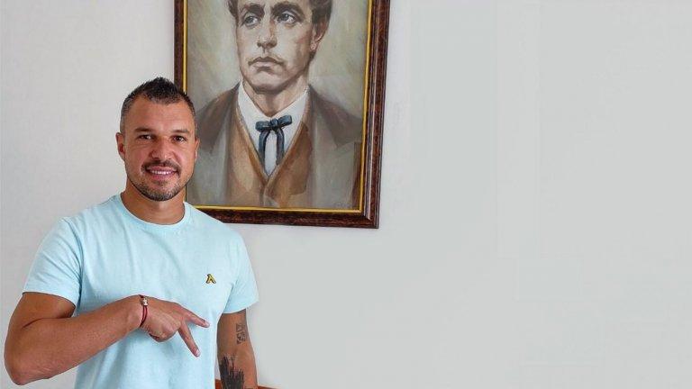 Божинов: Усетих мириса на футбол, вратите на Левски са отворени за мен