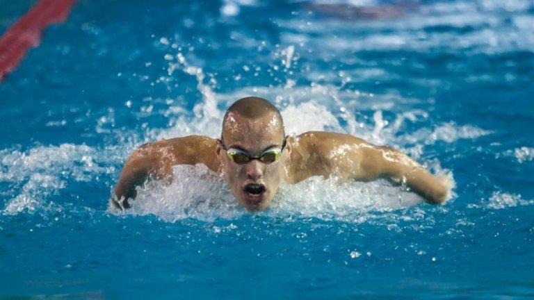 Антъни Иванов с плуване за историята: Даде по-добро време от Фелпс
