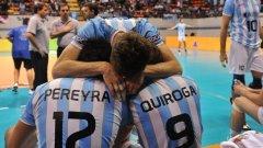 Волейболистите на Аржентина бяха разочаровани от неуспеха си срещу Бразилия на старта на финалния турнир на световната лига