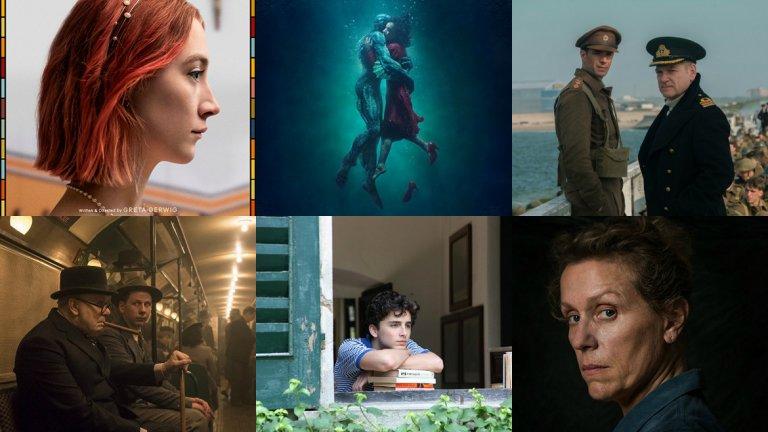 Кои са фаворитите за 90-тите награди Оскар