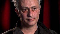 След кошмара във вторник, Жозе Моуриньо е готов да се снима във филм на ужасите. Вижте в галерията.