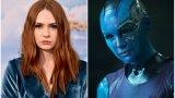 Карън Гилън като Небюла в Guardians of the Galaxy (и продължението му), Avengers: Infinity War (2018) и Avengers: Endgame (2019)
