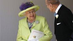 Тя присъства на церемония по оттеглянето на Уилям Пийл от поста лорд-шамбелан при кралския двор