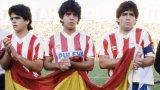 Денят, в който и тримата братя Марадона играха заедно за Гранада