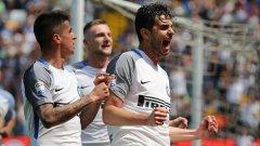 Ранокия вкара в началото и мачът стана лесен за Интер