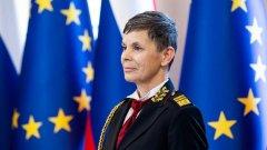 Жена вече е началник на Генералния щаб на армията на Словения