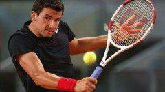 Григор Димитров отпадна на осминафинал в Мадрид, но идват турнирите в Рим и Париж на червено, където ще чака своя удар.