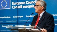 """В последната си реч """"За състоянието на Европейския съюз"""" Юнкер призова държавите да кажат """"Не"""" на национализма и """"да"""" на патриотизма и солидарността в Европа."""