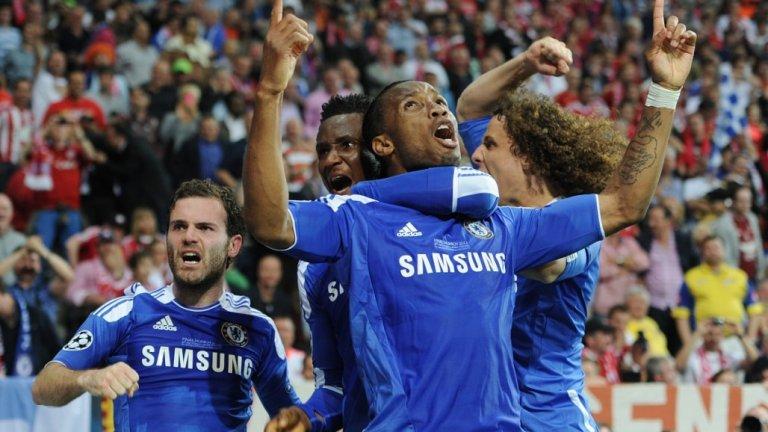 Дрогба честити на бившите си съотборници успеха в Мюнхен.
