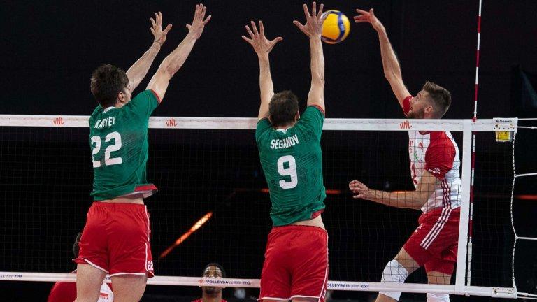 Българските волейболисти нямаха никакви шансове срещу световния шампион