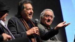 Легендарните актьори са отново заедно на екран в The Irishman - новият филм на Мартин Скорсезе. Около премиерата му споделят повече за приятелството си, паралелно вървящите си кариери и наследството, което ще оставят.