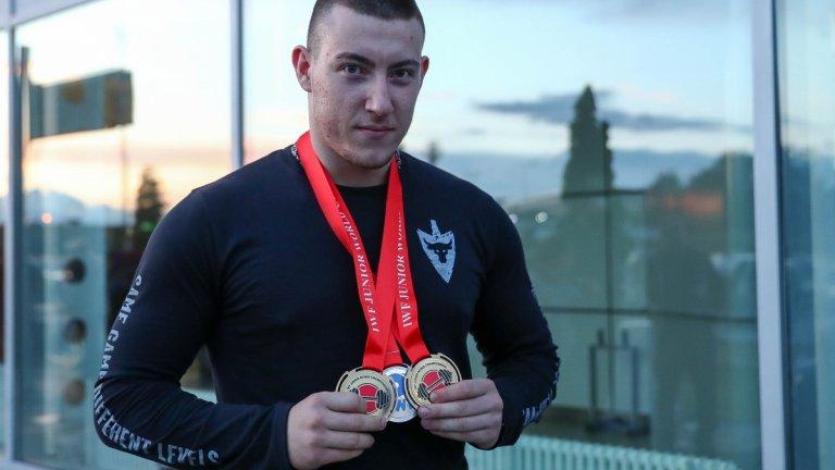Христо Христов е европейски вицешампион от Москва 2021 и сребърен медалист от Олимпийските игри за младежи в Буенос Айрес през 2018 г.
