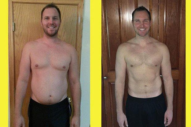 """1. Кантарът не прави разлика между мазнини и мускули  Важно е да правите разлика между свалянето на тегло (т. нар. """"weight loss"""") и свалянето на мазнини (т. нар. """"fat loss""""). Кантарът ще ви покаже, когато теглото ви намалява, но не може да ви каже, дали това се дължи на изгорени мазнини или загуба на мускулна маса. Същото е и ако качите килограми – това мазнини ли са или мускули? Мускулите имат по-голяма плътност от мазнините. Това означава, че за едно и също тегло, мускулите ще заемат по-малък обем спрямо мазнините. Например: 1 кг мускулна тъкан заема обем от 0,6 литра в тялото ви, докато 1 кг мастна тъкан заема 1,1 литра. Разликата в обема е почти двойна. Това обяснява защо човек, който тежи 90 кг, но има нисък процент подкожни мазнини и изградена мускулна маса, може да изглежда много по-слаб от човек, който тежи 80 кг, но има висок процент подкожни мазнини и слабо развити мускули."""