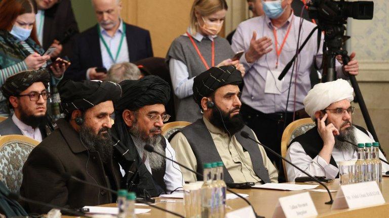 Делегация на талибаните в Москва