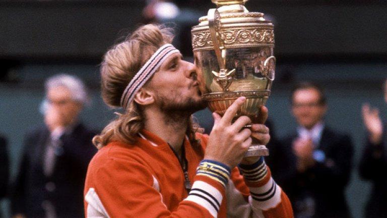 Бьорн Борг Състояние около 4 млн. долара Един от най-великите тенисисти на всички времена, известен с бурния си гняв, се отказва едва на 27 години, спечелил огромните за началото на 80-те 4 милиона долара. Наркотична зависимост и неуспешно бизнесначинание - модна линия, които поглъщат всичките му авоари, го принуждават да започне да разпродава 11-те си трофея от Големия шлем. Притиснат до стената, Бьорг решава да се завърне в тениса на 35-годишна възраст, но бива унижен. Успява да си стъпи на краката, след като основава нова модна линия, този път за бельо, която към момента се оценява на 842,5 млн. долара.