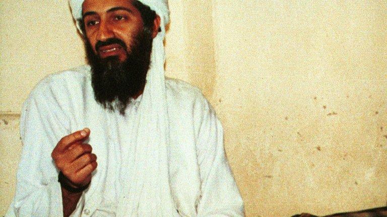 Осама бин Ладен  Този човек се превърна в лицето на глобалния джихад през последните три десетилетия. Той е един от основателите на Ал Кайда, дългогодишен лидер на организацията и мозъкът зад терористичните атаки от 11 септември и тези срещу американските посолства в Кения и Танзания през 1998 г., при които загиват над 220 цивилни.  Бин Ладен израства като наследник на богата саудитска фамилия и използва своето богатство, за да подпомогне съпротивата на муджахидините в Афганистан във войната срещу СССР. Там създава връзките и контактите с талибаните, които по-късно ще му помогнат да използва страната като база за своите терористични операции.   След атаките от 11 септември американското правителство обявява награда от 25 милиона долара за неговата глава на бин Ладен и повежда 10-годишна кампания за залавянето му. В крайна сметка през 2011 г. е открит и ликвидиран в Пакистан при операция на щатските специални части.