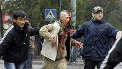 Насилие превзе улиците в Киргизстан
