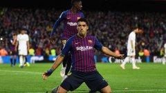 """Суарес беше неудържим за защитата на Реал, а """"белите"""" съвсем рухнаха в края и можеха да инкасират повече голове"""