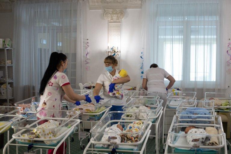 Кадър от клиниката в Украйна Biotex Com