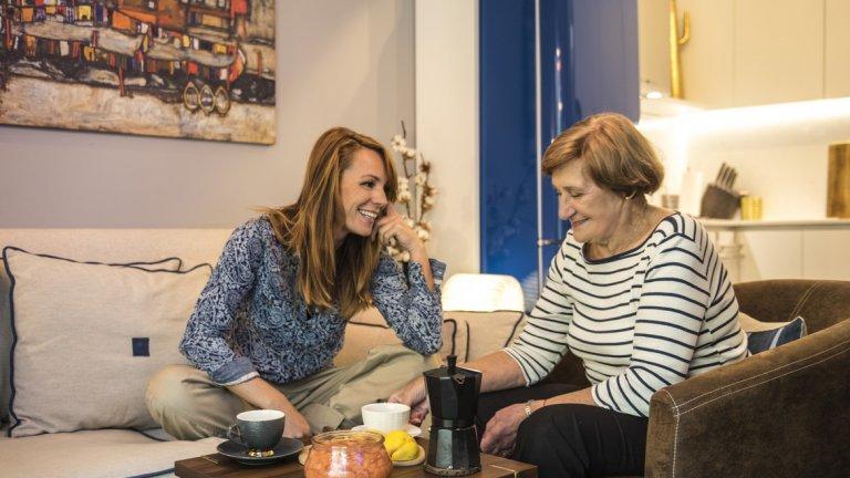 Да говориш с баба е един от най-магичните семейни моменти