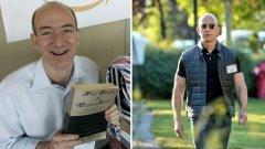 От старомоден книжар Безос се превърна в един от най-добре облечените мениджъри