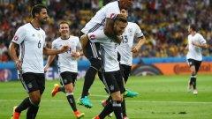 Шкодран Мустафи отбеляза първия гол за Германия на Евро 2016.