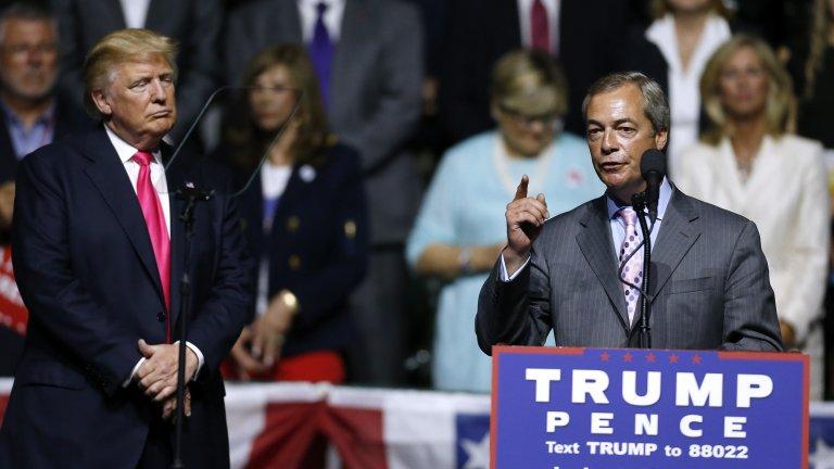 Крайнодесните в Европа стискат най-силно палци на сегашния президент на САЩ