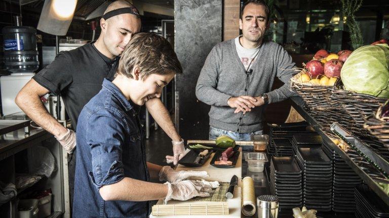 Рецепта за суши - Филаделфия тон и Норвежка гора