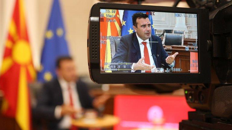 """Опозиционната ВМРО-ДПМНЕ не е доволна от """"твърде помирителния му тон спрямо България"""" по време на интервю пред БГНЕС"""