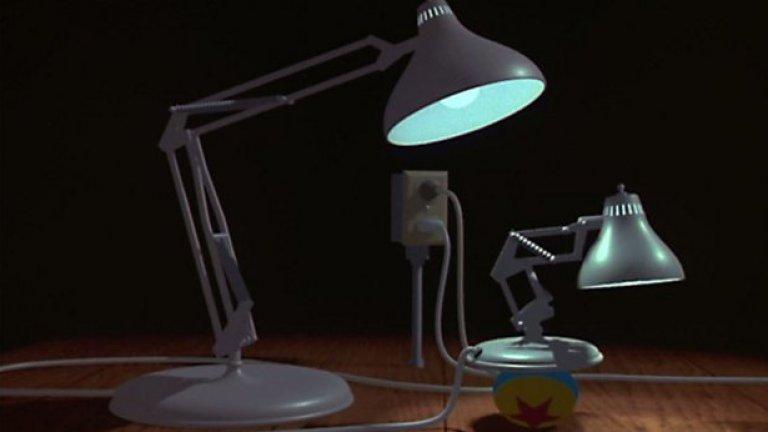Лампата и досега остава корпоративно лого на Pixar