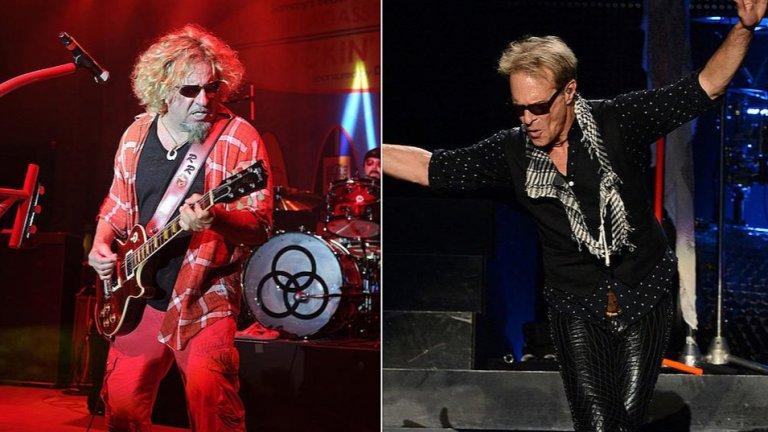 Сами Хейгър срещу Дейвид Лий Рот  Не само феновете на Van Halen се карат по въпроса за двата основни периода на групата – първия с вокалиста Дейвид Лий Рот и втория със Сами Хейгър като негов заместник. Самите певци също разменяха вербални залпове във времената, когато Van Halen бяха актуални и около тях беше доста горещо. Оттогава и двамата се завръщаха в групата за известно време, като в крайна сметка Рот все още кара третия си период във Van Halen. Миналата година той заяви, че според него групата е приключила, но наскоро Хейгър контрира, че ако искат, Еди Ван Хален и останалите могат отново да пробват да концертират с него, вместо с Рот.