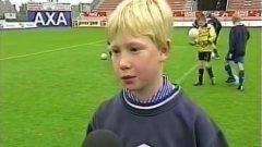 Де Бройне в детския отбор на Гент.