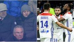 Лион нанесе първо поражение за сезона на ПСЖ пред погледа на Оле Гунар Солскяер
