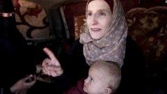 Лемке е била само на 15, когато заминава за Сирия
