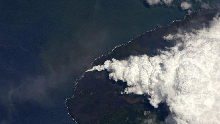 Изригването на вулкана Килауеа на остров Хавай миналата година