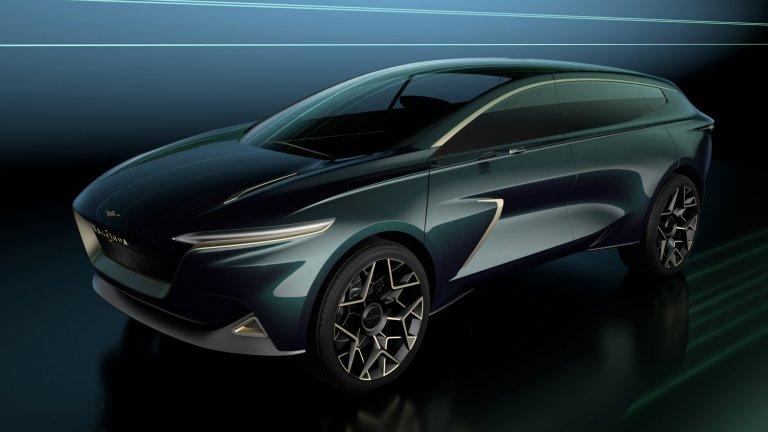 Lagonda All-TerrainОт Aston Martin решиха, че Lagonda ще е техният бранд за изцяло електрически автомобили от по-високия клас. Един от първите модели обаче няма да е ниска спортна бегачка, а SUV, наречен красноречиво All-Terrain. Пробегът му ще е 480 километра с едно зареждане. Очаква се да бъде официално представен през 2023 г.