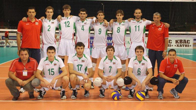 Младежкият национален отбор по волейбол спечели сребро на европейското първенство в Беларус