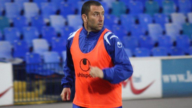 Александър Александров започна днес тренировки с топка и вероятно ще бъде готов за мача със Спортинг