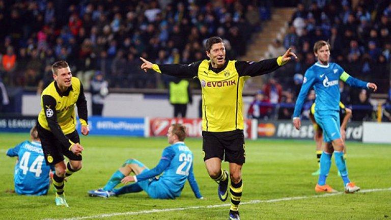 Роберт Левандовски (Борусия Дортмунд и Полша) Един от най-големите голмайстори в Бундеслигата стигна до четвъртото място в квалификационната група на Полша. Крайно недостатъчно.
