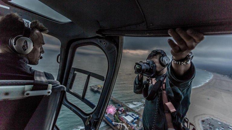 Да уловиш мига на 2000 метра над земята
