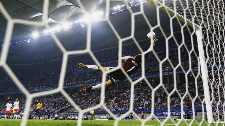 Томаш Росицки срещу Хамбургер, групова фаза, 2006 г. (първият гол в компилацията)
