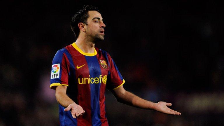 Статистически погледнато, лидерът в халфовата на Барселона Шави направи най-силния си сезон за първенство