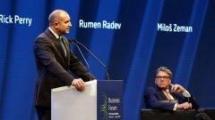 Темата за Южен Поток сблъска за кратко българския с руския президент